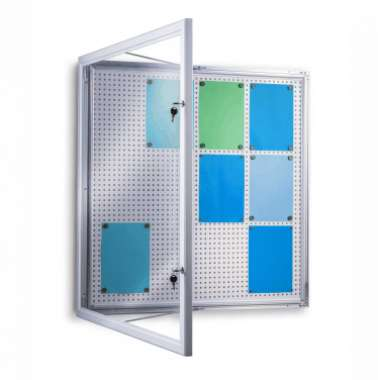 LOCKABLE NOTICEBOARD - COMBI